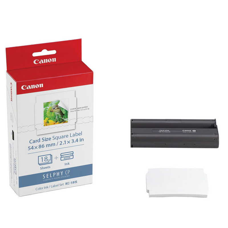 CANON CAIXA PAPEL KC-18IS