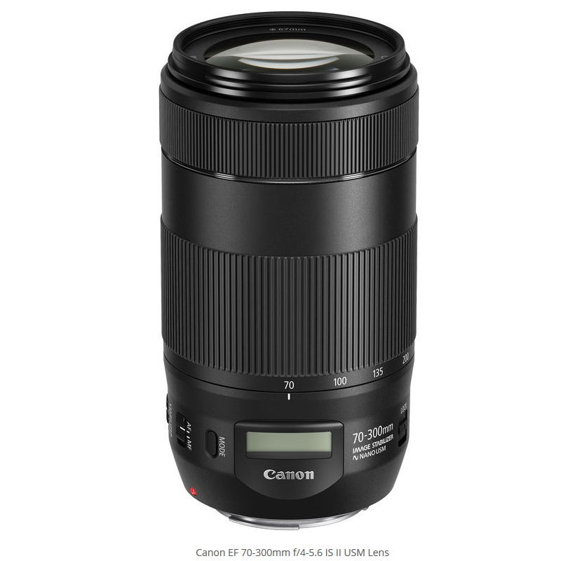 CANON EF 70-300MM F4-5.6 IS II NANO USM