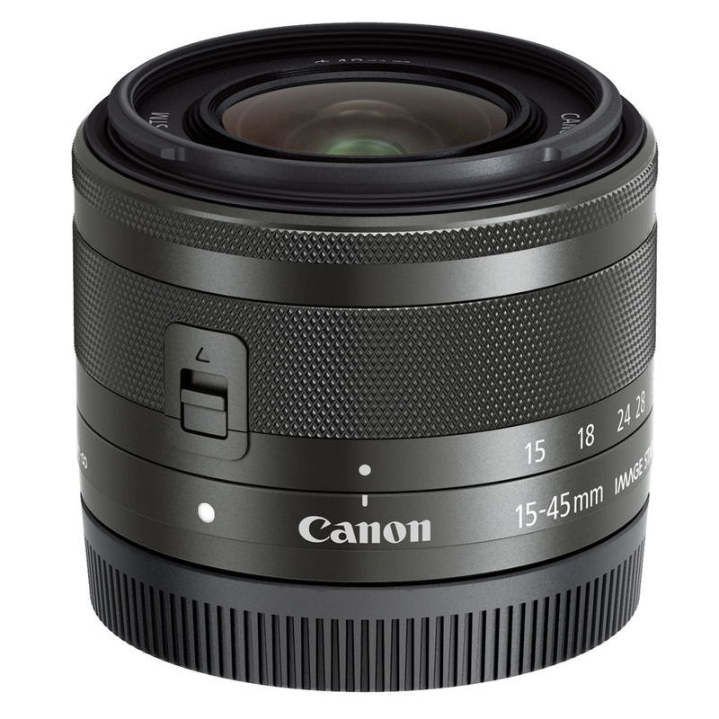 CANON EF-M 15-45MM F3.5-6.3 IS STM BLACK