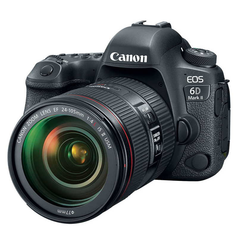 CANON EOS 6D MARK II + 24-105MM F4 IS
