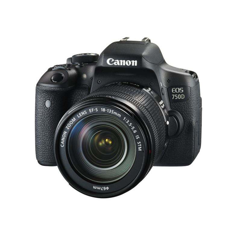 CANON EOS 750D + EF 18-55MM IS STM