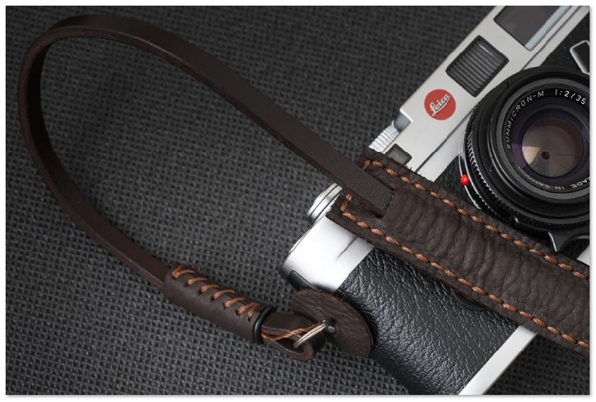 DEADCAMERAS BROWN MINI STRAP 110CM