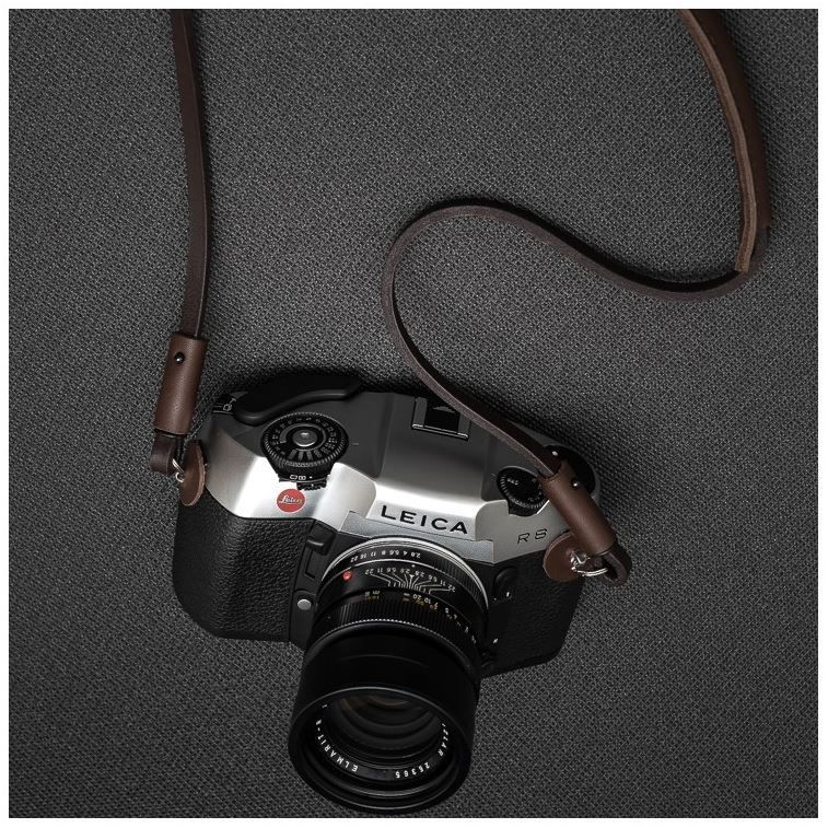 DEADCAMERAS BROWN SHOULDER STRAP 95