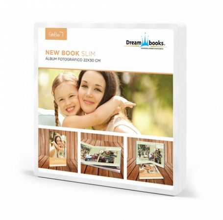 DREAMBOOKS BOOK SLIM 22X30 (24PAG)