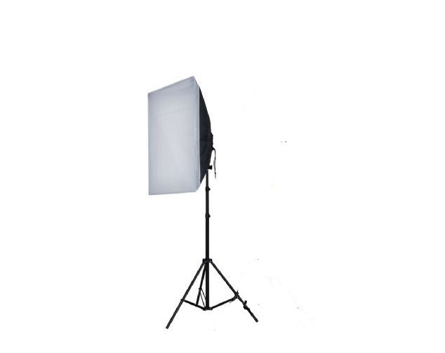 FE DAYLIGHT KIT 1X55W + SOFTBOX 50X50 + TRIPE (1X275W)