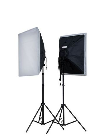 FE DAYLIGHT KIT 2X800W + SOFTBOX 60X60