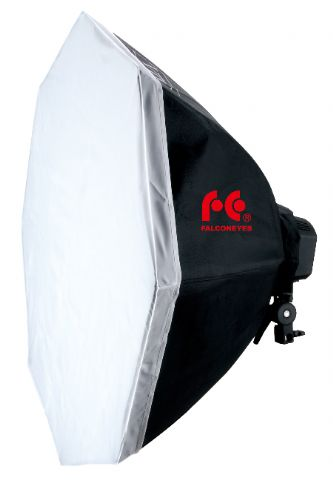 FE DAYLIGHT 9X28W + SOFTBOX OCTOGONAL 8OCM (9X140W)
