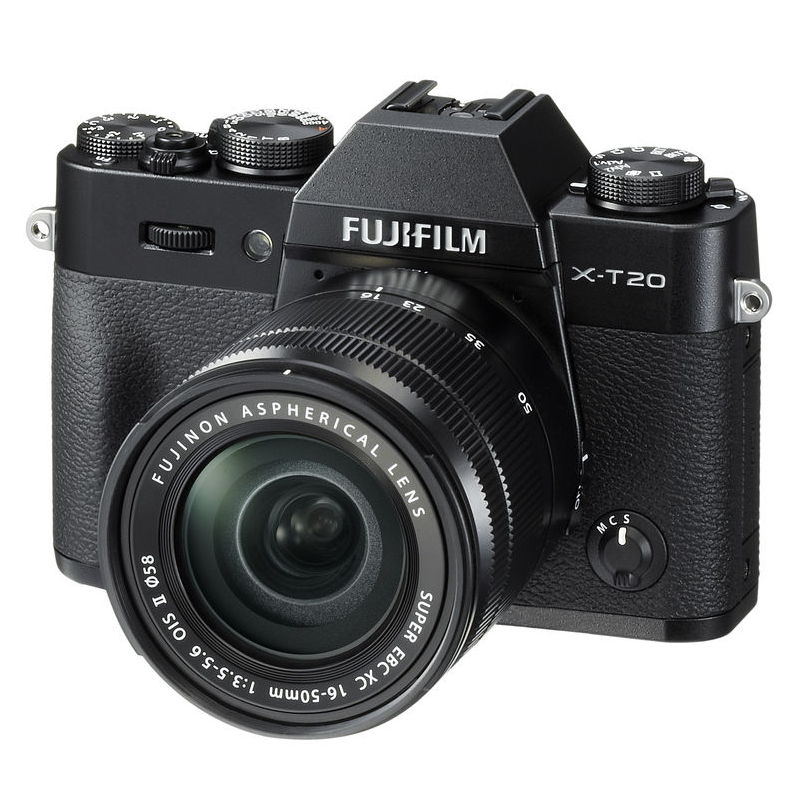 FUJI X-T20 + 16-50MM OIS II BLACK