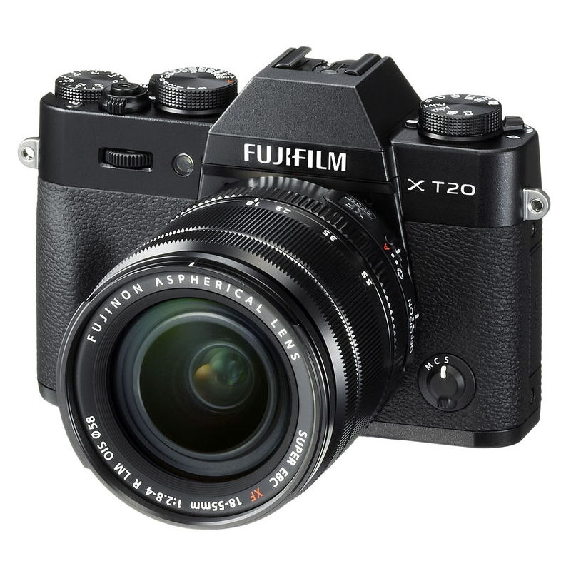 FUJI X-T20 + 18-55MM F2,8-4 R LM OIS BLACK