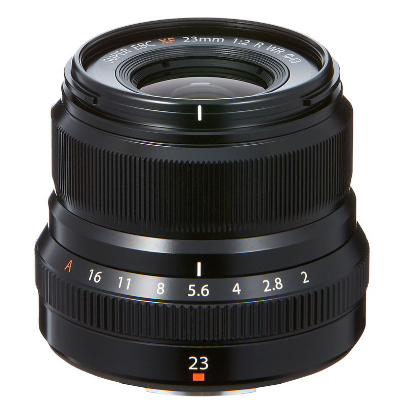 FUJI XF 23MM F2 R WR BLACK