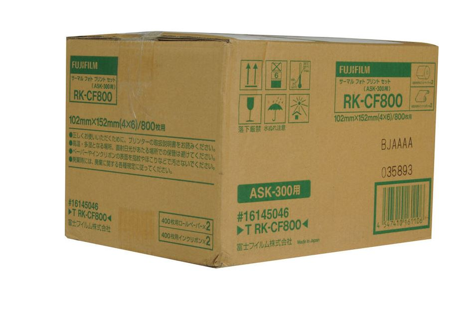 FUJI TRK-CF800 PAPEL 10X15 - ASK-300