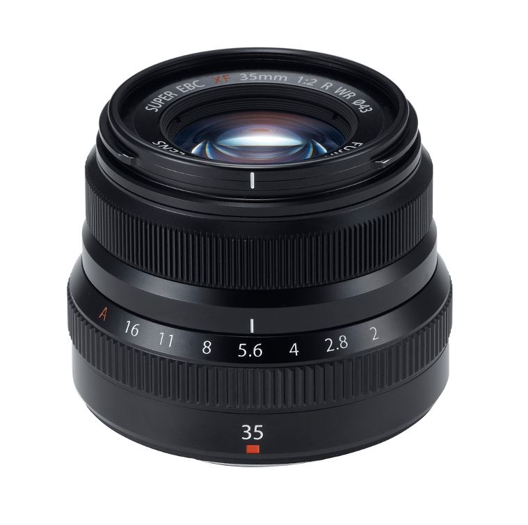 FUJI XF 35MM F2.0 R WR BLACK
