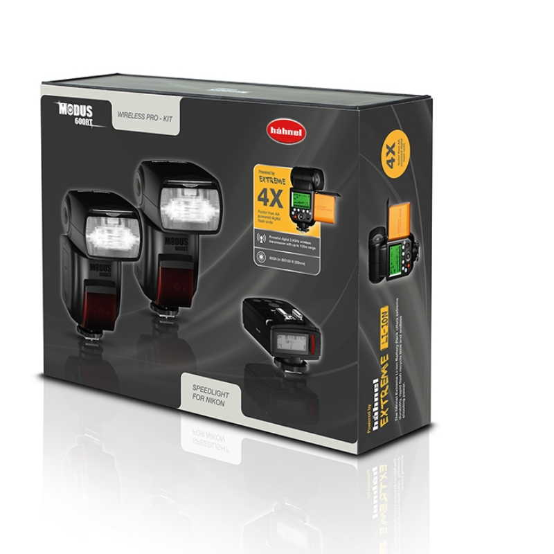 HAHNEL FLASH MODUS 600RT KIT NIKON
