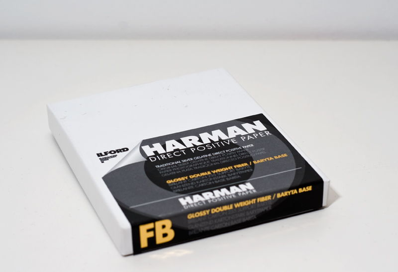 ILFORD HARMAN DIRECT POSITIVE FB1K 13X18-25F