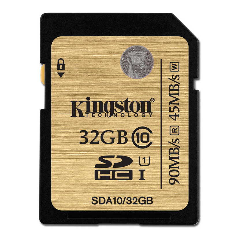 KINGSTON SDHC 32GB 90MBs