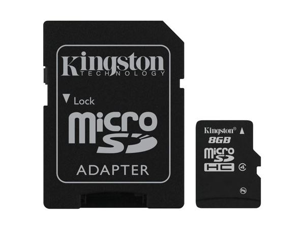 KINGSTON MICRO SD 8GB CLASSE 4