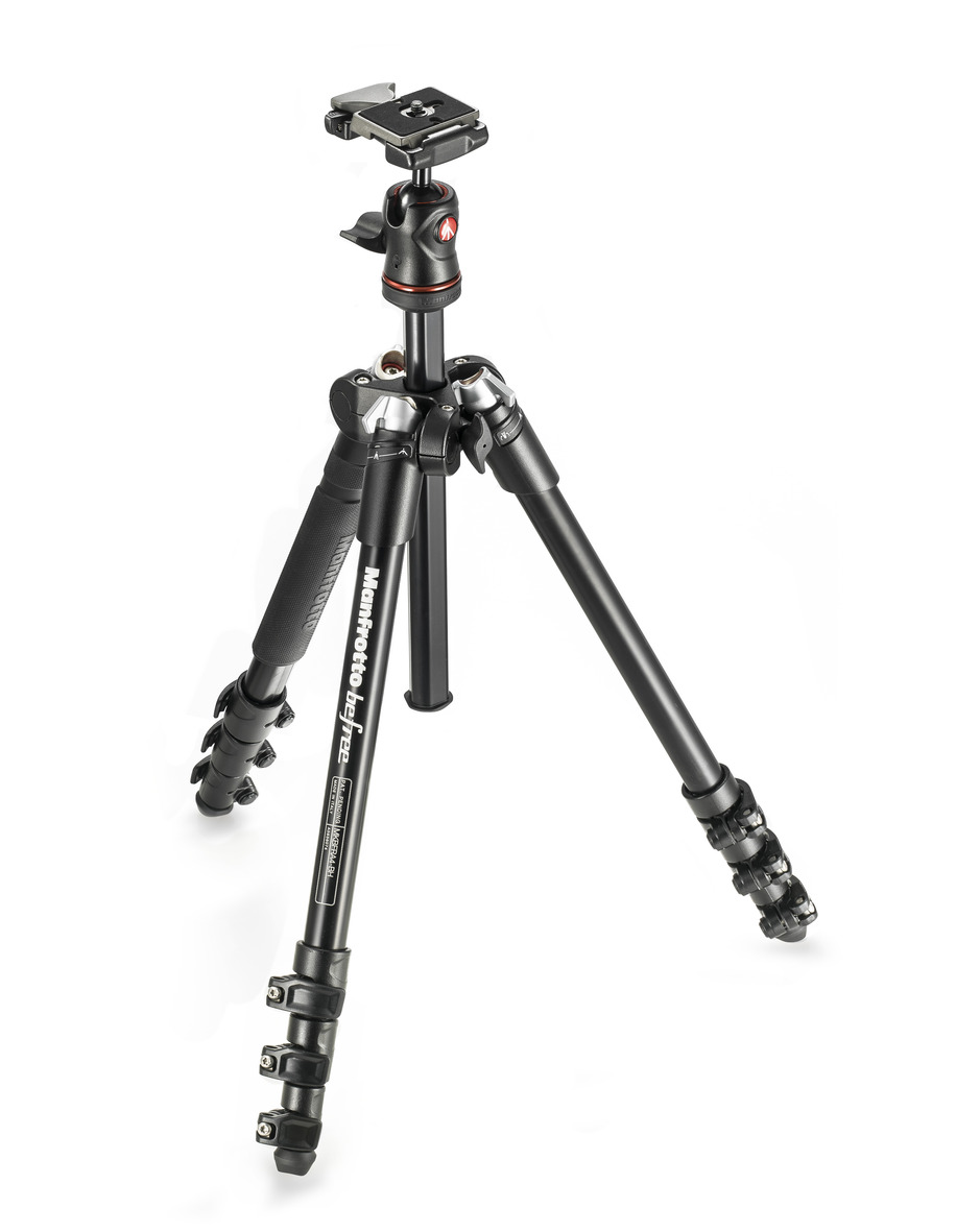 MANFROTTO TRIPE MKBFRA4-BH BEFREE KIT BLACK
