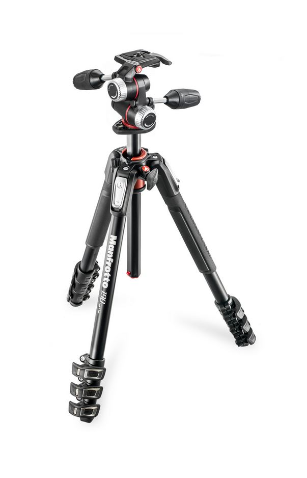 MANFROTTO TRIPE MT190XPRO4 + CABECA 3WAY