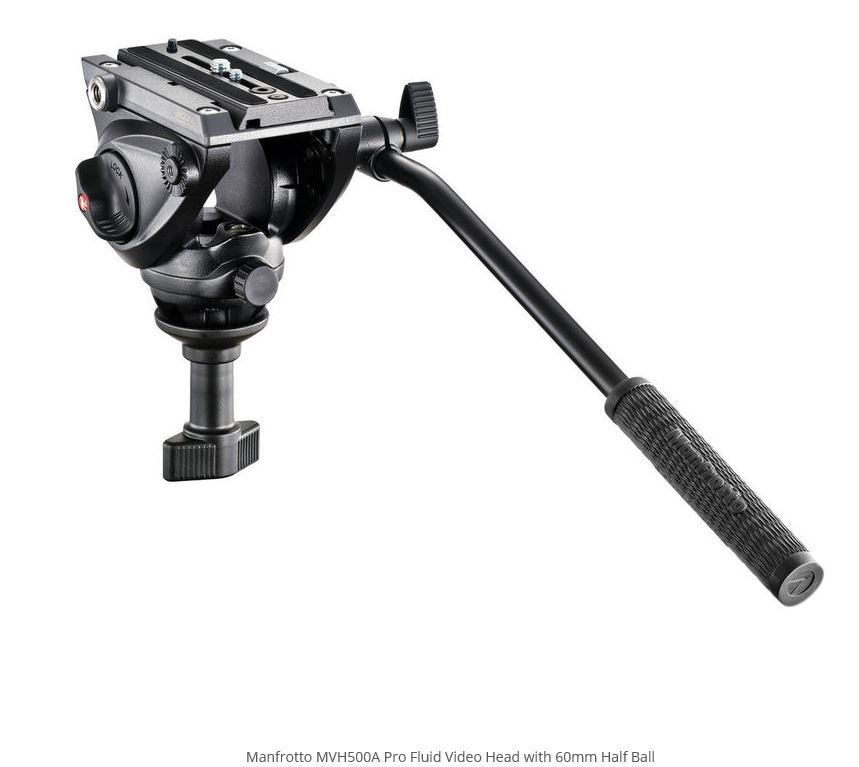 MANFROTTO MVH500A CABECA VIDEO