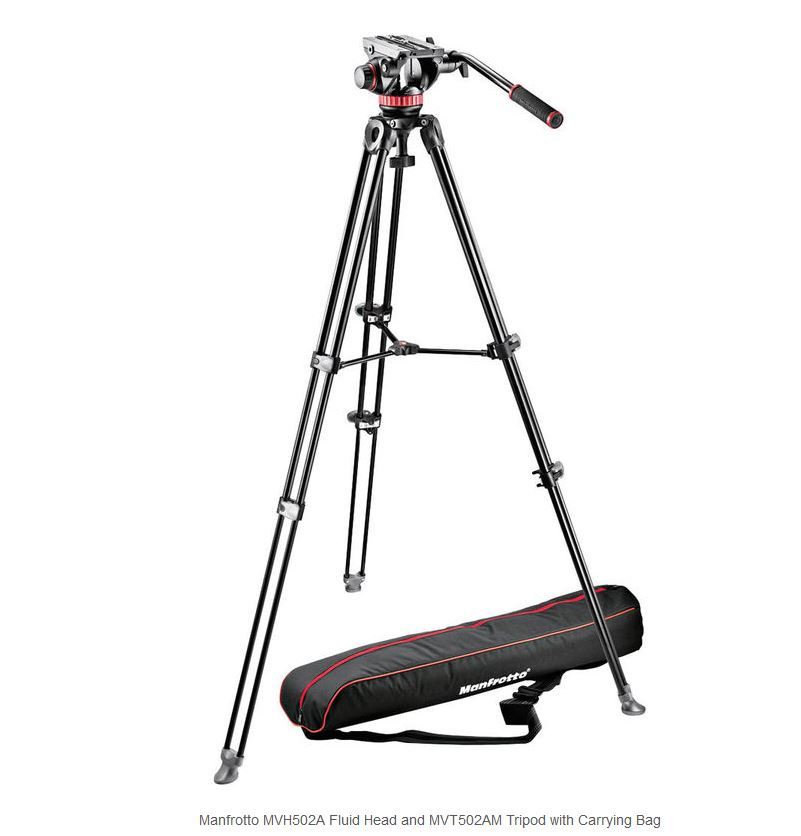 MANFROTTO MVK502AM-1 TRIPE VIDEO