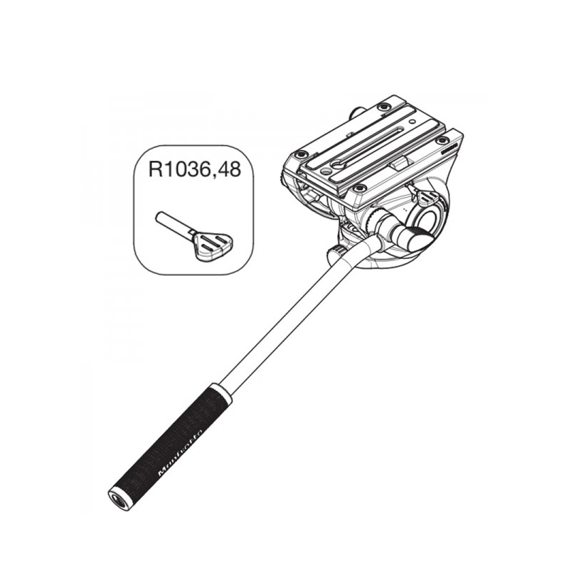 MANFROTTO R1036.48 PARAFUSO