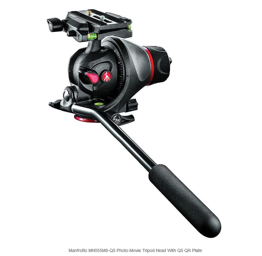 MANFROTTO MH055M8-Q5 CABEÇA PHOTO E VIDEO