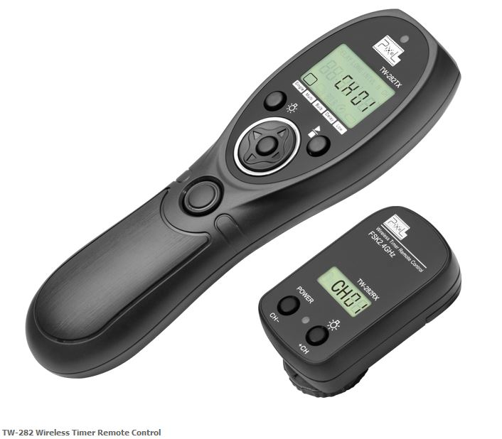 PIXEL TW-282/N3 TIMER REMOTE CONTROL WIRELESS