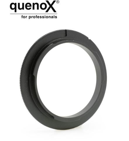 QUENOX MACRO REVERSE ADAPTER 58MM CANON