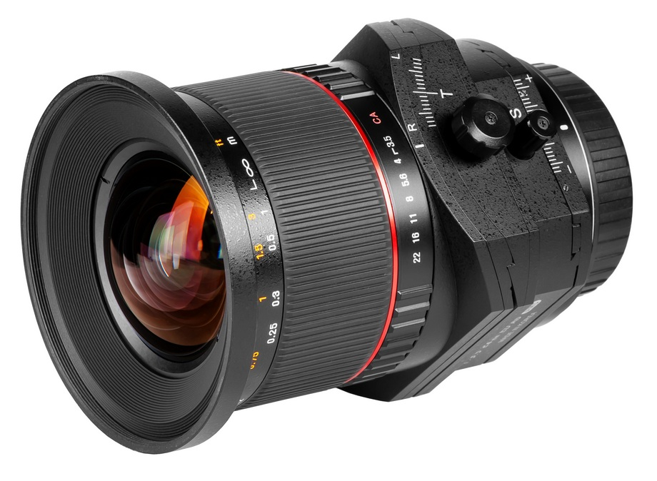 SAMYANG 24MM F3.5 TILT&SHIFT CANON