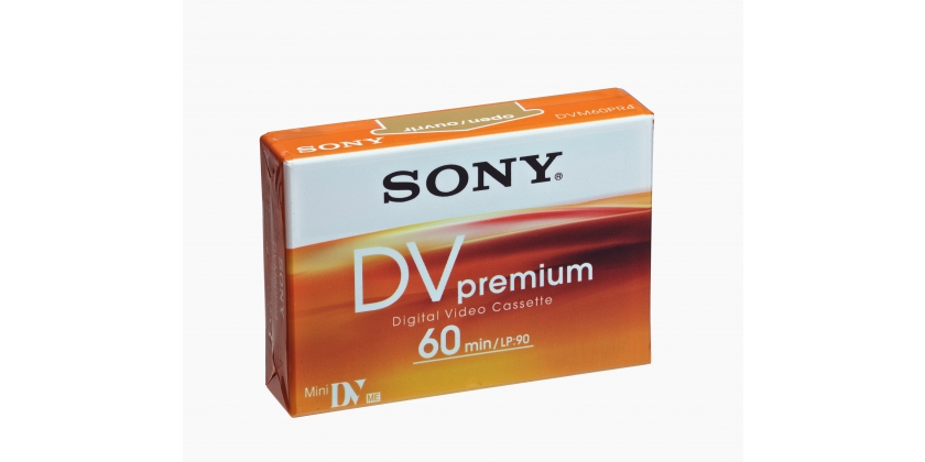 SONY CASSETE MINI DV 60