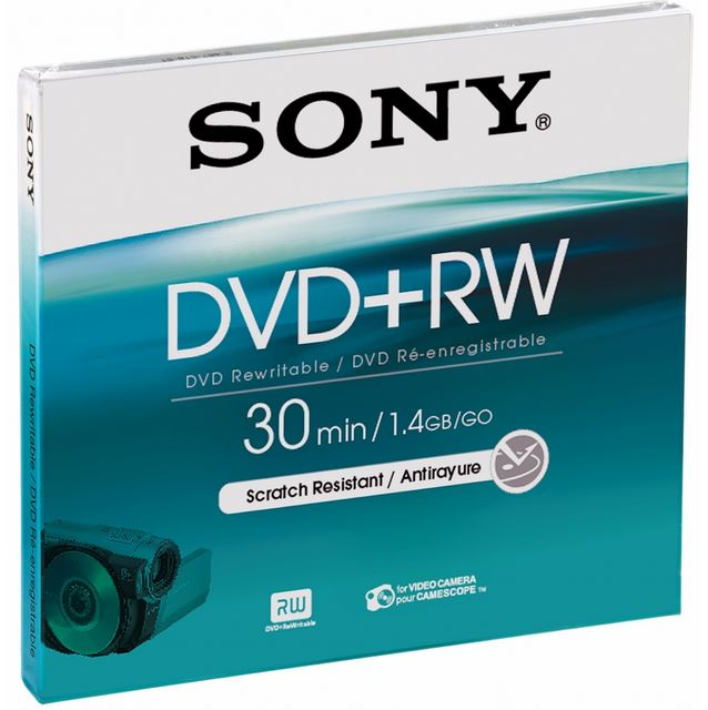 SONY MINI DVD+RW 1.4GB