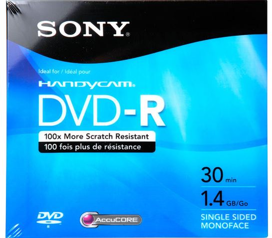 SONY MINI DVD-R 1.4GB