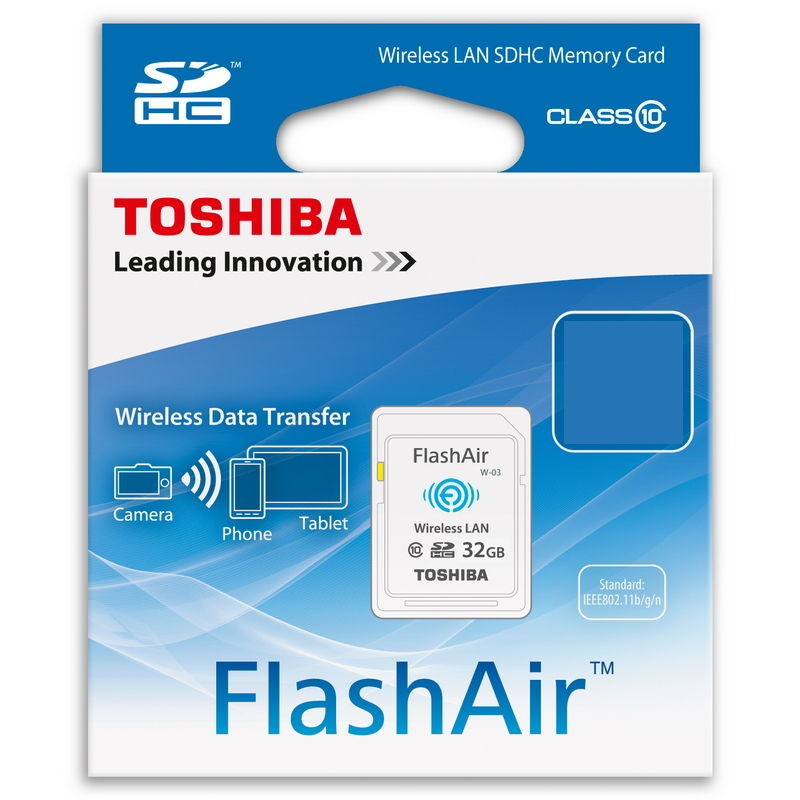 TOSHIBA FLASHAIR SDHC 16GB